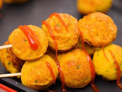 黃金蛋丸子&廣島燒