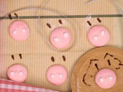 豬鼻子棉花糖