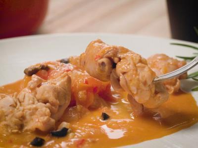 西班牙花生醬燉雞