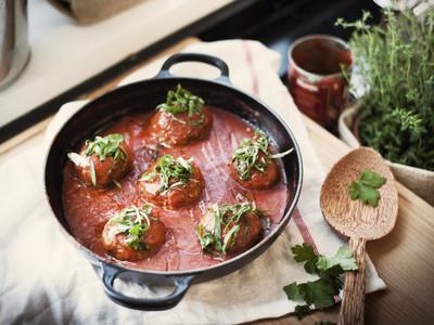 西班牙蕃茄燉牛肉丸