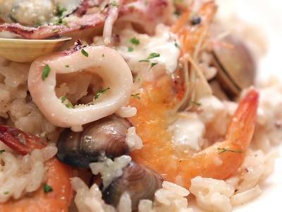 法式白醬海鮮燉飯