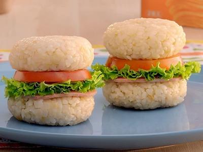 洋芋米漢堡