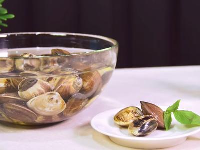 【蛤蜊】黃金比例吐沙法
