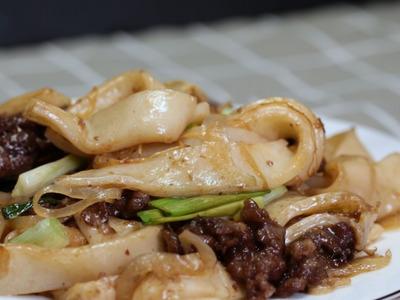 乾炒牛肉粄條