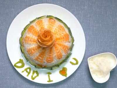 生魚片蛋糕