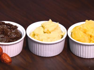 棗泥、蓮蓉、豆沙餡